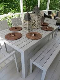 White Patio Dining Set by Furniture 20 Incredible Images Diy Outdoor Dining Chairs Make