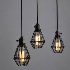 Metal Pendant Light Fixtures Winsoon Metal Pendant Light Shade Vintage Industrial Chandelier