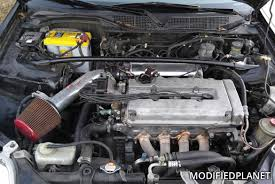 honda civic 2000 modified 2000 honda civic si engine bay with injen short ram air intake