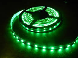 16 4 foot 5050 bright green cabinet counter led lighting