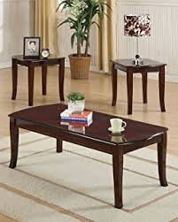 Coffee And End Table Set Acme 09652 3 Trudeau Coffee End Table Set