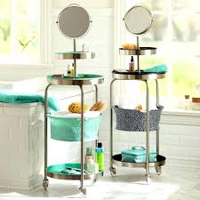 Bathroom Storage Carts Bathroom Storage On Wheels Fresh Bathroom Cart On Wheels And