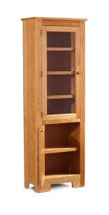 small bookcase with glass doors kcsbcngwd2465 in by simply amish in sterling co shaker narrow