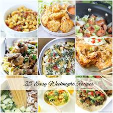 List Of Easy Dinner Ideas Carbohydrate Food List Chart Easy Weeknight Dinner Recipes Pictures