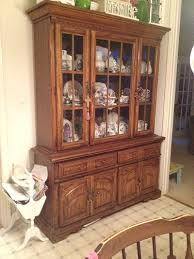 Kitchen Furniture Hutch Amazing Color Pop Hutch Transformation Balancing Beauty And Bedlam