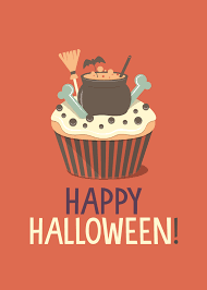 Happy Halloween Printable by Free Printable Halloween Cupcake Prints The Cottage Market