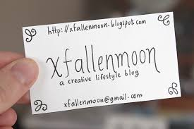What Information Do You Put On A Business Card Diy Handmade Business Cards U2014 Xfallenmoon