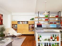 kitchen island with open shelves kitchens open kitchen island shelves offer a smart display for