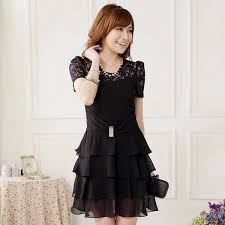 cheap price good quality plus size dress wholesale k9813 black