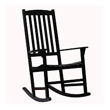Patio Rocking Chair Shop Boston Loft Furnishings Carolina Black Eucalyptus Eucalyptus