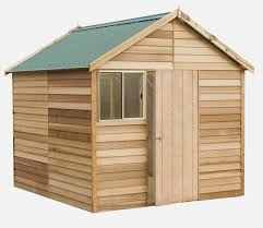 kallista 2 5m x 2 4m x 2 65m gable roof timber shed with window