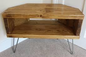 light wood corner tv stand reclaimed rustic wooden corner tv stand cabinet unit solid steel