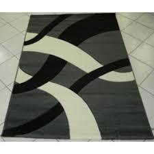 tappeti moderni bianchi e neri tappeto moderno carvino grigio bianco latte e nero pelo rasato dis