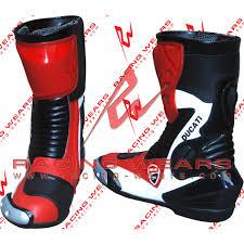 motorcycle racing boots racing wears ducati motorbike racing leather boots mrlb1012 racing