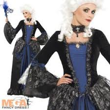 Baroque Halloween Costumes Baroque Beauty Masquerade Ladies Fancy Dress Womens Halloween