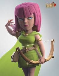 clash of clans archer pics out of home campaign for clash of clans at g star game show in