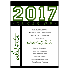 graduation invite class of celebration green graduation invitations p 604 57 g1010 z