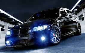 Bmw M3 Blacked Out - black custom bmw m3 at night 1920x1200 full hd 16 10