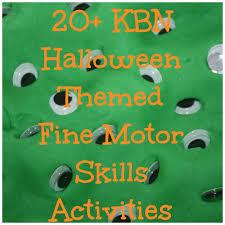 halloween fine motor skills activities for kids motor skills