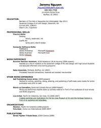 simple curriculum vitae for student freshman college student resume exles svoboda2 com how to write