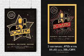 10 bowling party flyer designs design trends premium psd