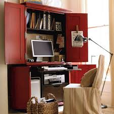 Computer Desk Armoire Small Home Office Armoire Bews2017
