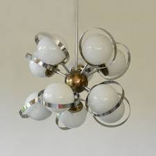 Sputnik Light Fixture by Sputnik Molecule Hanging Lamp 1960s 64101