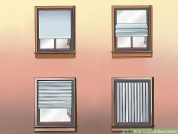 Installing Blinds On Windows How To Install Wood Blinds With Pictures Wikihow