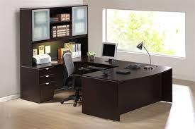 u shaped glass desk laminate office furniture pod with u shaped desk and glass cabinet