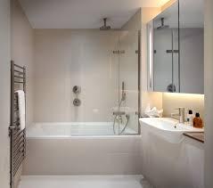 attached bathroom bathroom contemporary with bath panel