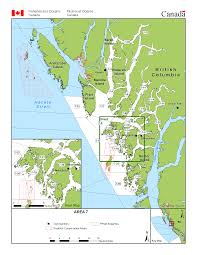 pacific region map fisheries management area 7 prince island island