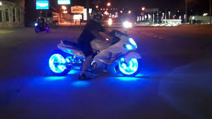 bright led light kits on your motorcycle at all things chrome