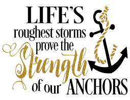 quotes about strength winnie the pooh life u0027s roughest storms prove the strength of our anchors
