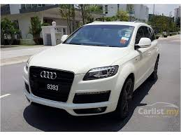 audi a7 suv audi q7 2007 fsi quattro 4 2 in selangor automatic suv white for