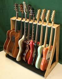 Free Standing Wood Shelf Plans by Best 25 Guitar Rack Ideas On Pinterest Guitar Stand Guitar
