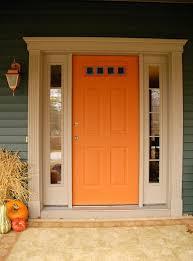 orange front door paint colors front door paint colors for brick