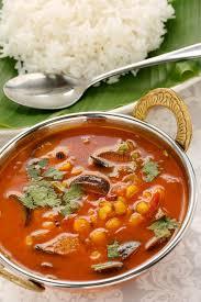cuisine indienne riz sambar et riz cuisine indienne du sud image stock image du inde