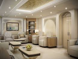 the inside of boeing 747 8 private jet is the longest and second