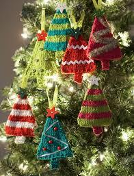 tiny tree ornaments allfreeknitting