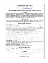 best ideas of pliance officer resume sample email free birthday