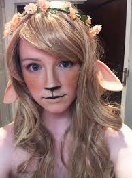Deer Halloween Costumes 95 Deer Fawn Doe Cosplay Images Deer Makeup