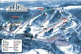 Lacrosse Wisconsin Map by Mt Lacrosse Skiing And Snowboarding Wisconsin Trail Guide
