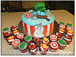 avengers inspired cake u0026 cupcake toppers fondant cake toppers