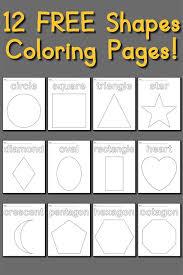 Free Circle Coloring Page Shapes Coloring Pages Coloring Pages Shapes