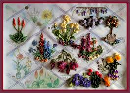 silk ribbon embroidery embroidery silk ribbon trees search ribbon embroidery