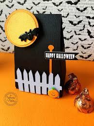 it u0027s written on the wall halloween pumpkin u0026 bat treat boxes