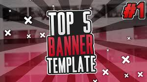 template youtube photoshop cc top 5 free banner template photoshop pl download youtube gfx