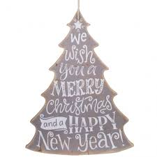 wooden christmas tree 16 merry christmas tree sign grey xwm6307 craftoutlet