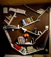 Skateboard Shelf 10 Unique Bookshelves That Will Blow Your Mind Interior Design
