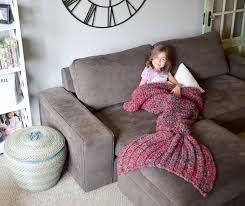 crocheted mermaid tail blankets by melanie campbell architecture